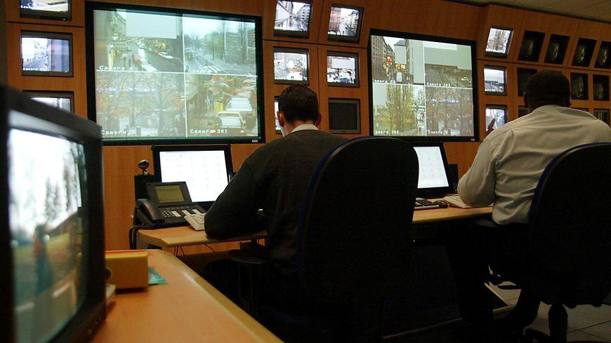 Le centre de vidéo-surveillance de Strasbourg.