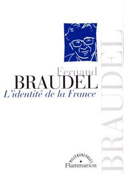 """Couverture de """"L'Identité de la France"""" paru en 2000 chez Flammarion."""