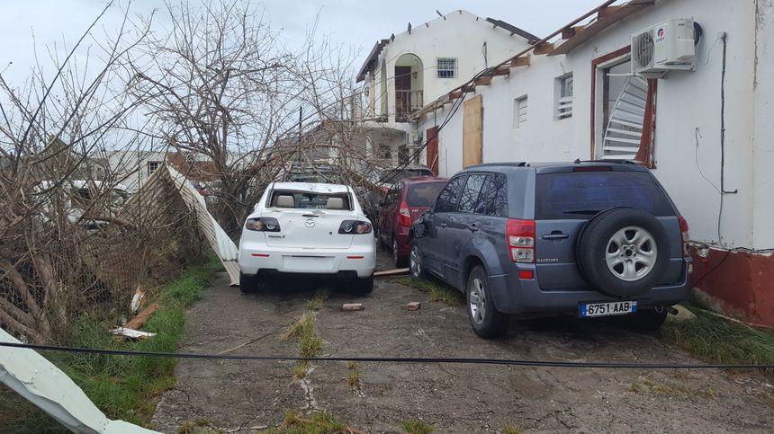 L'ouragan Irma a totalement détruit la société de location de voitures de Lyndon Lewis
