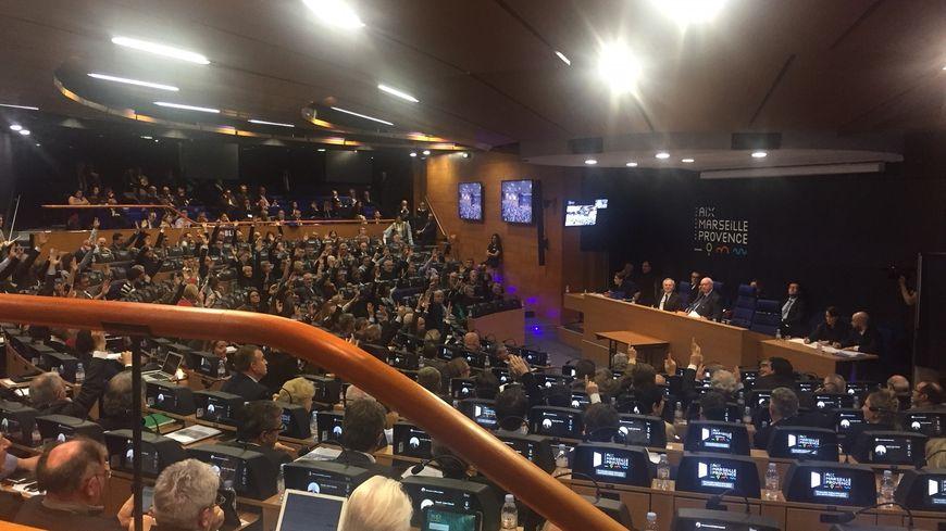 Le budget de la métropole Aix-Marseille adopté sur le fil