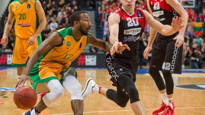Drew Joyce n'a joué que 18 minutes face à Vilnius, en vue du match de mercredi soir face à Bourg en Bresse