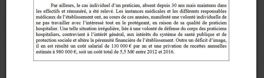 La conclusion synthétique de la chambre régionale des comptes de Bretagne