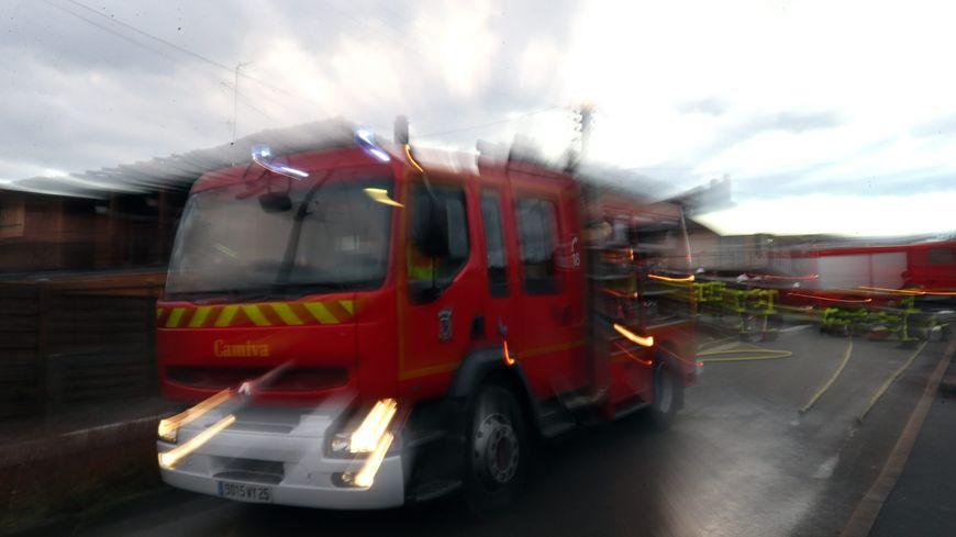 Pompiers en intervention (illustration)