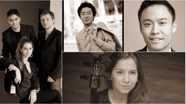 Juliette Herlin et Kevin Ahfat ; Ryutaro Suzuki ; le Trio Märchen
