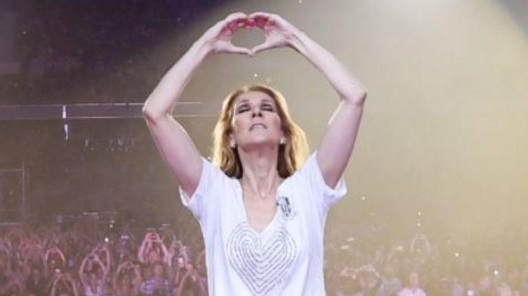 Céline Dion en concert à Nice