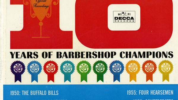 Concours de BarberShop des années 50.