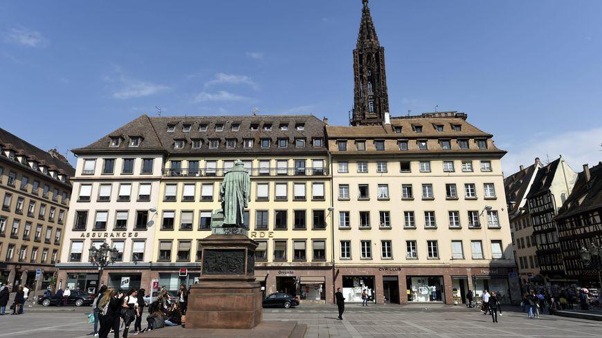La place Kléber à Strasbourg.