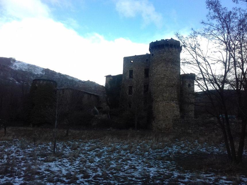 La batisse du XVème siècle n'a plus de toit