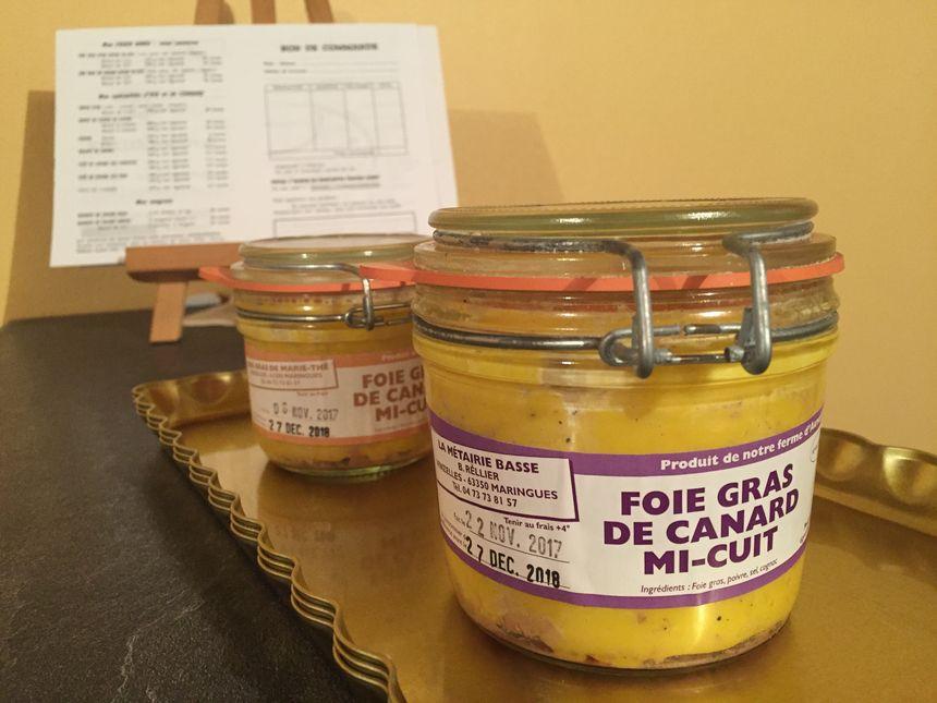 Le prix du foie gras reste stable en Auvergne