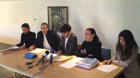 """Les familles des roubaisiens ont annoncé la création de l'association """"4 ados prisonniers en Turquie"""""""