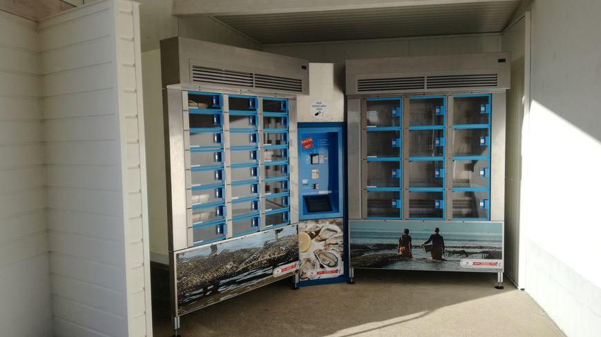 Le distributeur automatique d'huîtres installé aux Moutiers-en-Retz