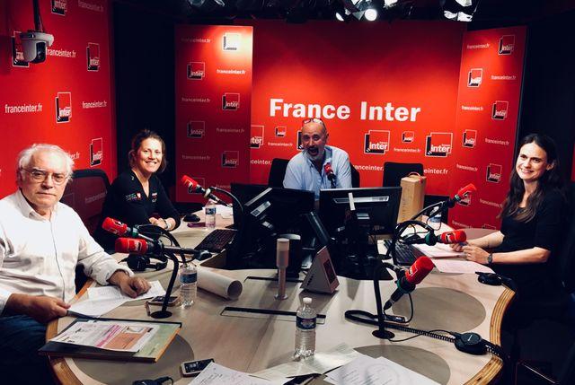 Vous Les Femmes, de gauche à droite, Alberty Algoud, Sam Davies, Daniel Morin, Marie-Laurence Saladin.