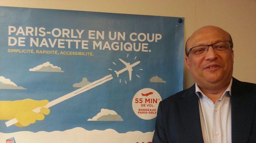 Frédéric Alory Directeur régional de Air France KLM à Bordeaux