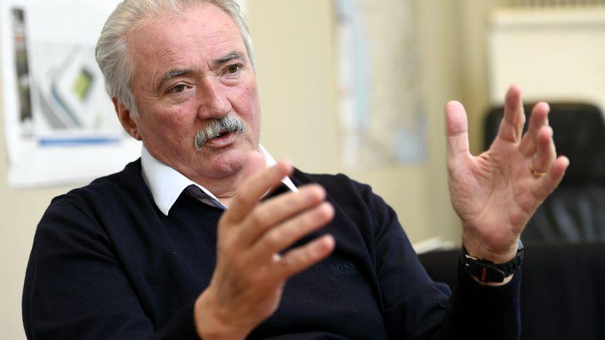 Bernard Serin, le président du FC Metz
