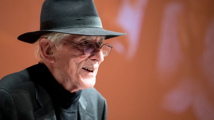 Tomi Ungerer à Munich (Allemagne), le 7 novembre 2017