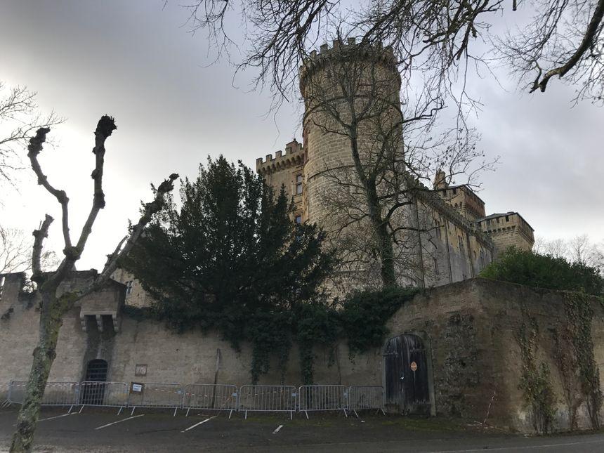 Aucun travaux n'ont été engagés au château depuis une dizaine d'années.