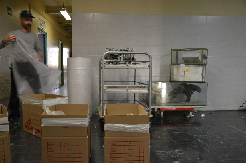 Le matériel de biologie déménagé à Saint-Maur-des-Fossés