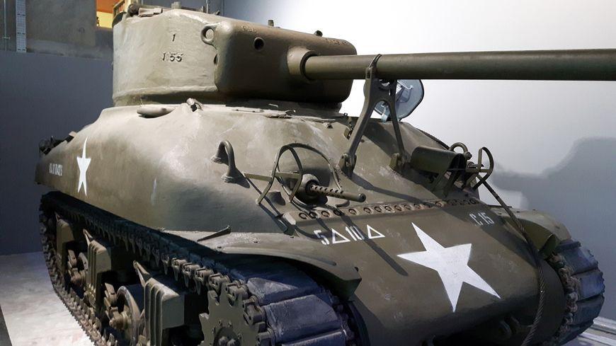 Le char Sherman, un des symboles de la seconde guerre mondiale