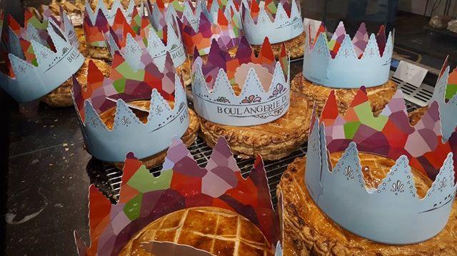 Galettes frangipane, pomme ou mixte à la boulangerie du château