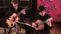 "Bach | ""Variations Goldberg"" (Aria et Variation n°1) par le duo Mélisande"