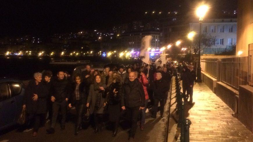 De la permanence de Pè a Corsica à la préfecture en passant par la mairie, les militants ont fêté cette victoire .