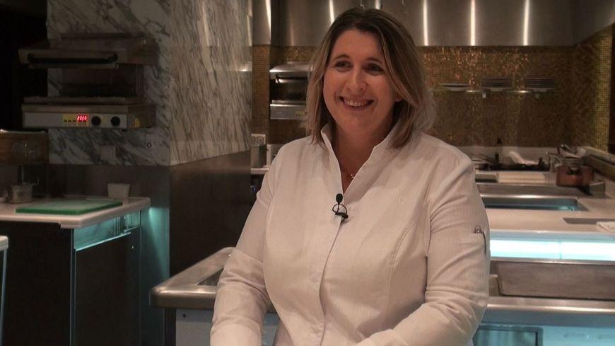 Stéphanie Le Quellec est chef du restaurant La Scène, à Paris.