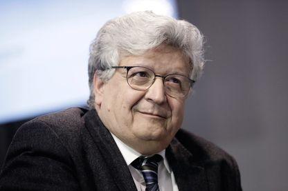 Elie Cohen en décembre 2014 au Premier sommet de l'Économie au Grand Palais