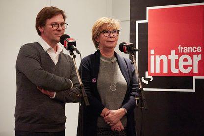 Claire Poyart et Laurent Romejko