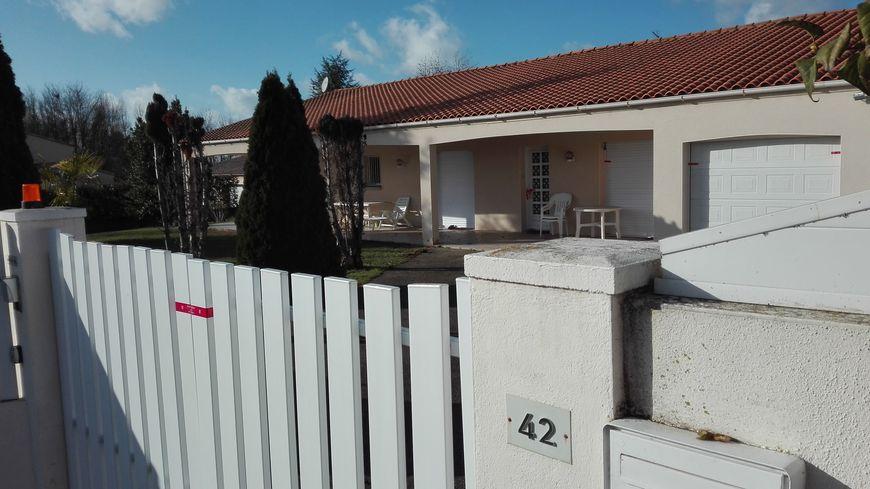 Le drame s'est produit dans cette propriété de Chauray, dans les Deux-Sèvres