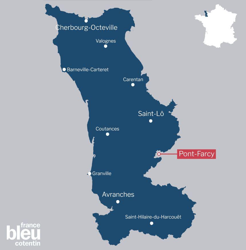 Pont-Farcy sera une commune de la Manche à partir du 1er janvier 2018
