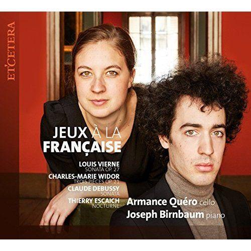 Armance Quéro et Joseph Birnbaum : Jeux à la française © Etcetera