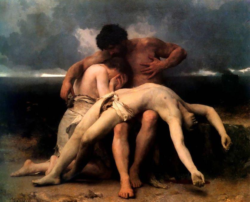 Premier deuil, 1888 (Musée national des beaux-arts d'Argentine)