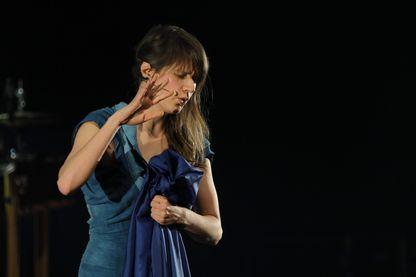 Camille en concert au Printemps de Bourges en 2017