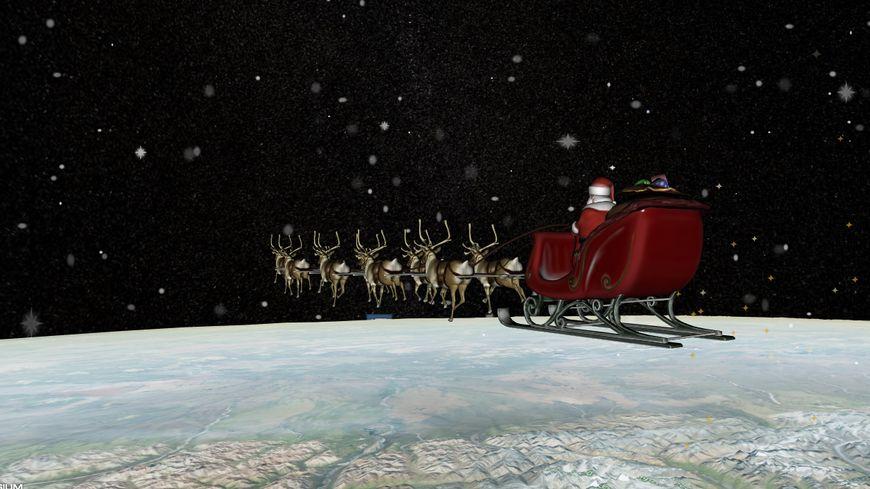 Le Père Noël achève son voyage et se dirige vers la Laponie, d'après la carte en temps réel de Norad Santa, le commandement militaire américain.