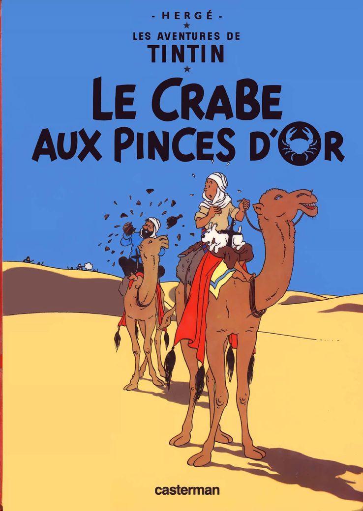 Les Aventures de Tintin, tome 9 : Le Crabe aux pinces d'or