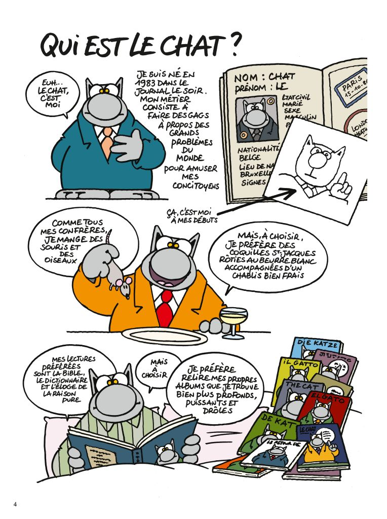 """""""Chacun son chat"""" de Philippe Geluck"""