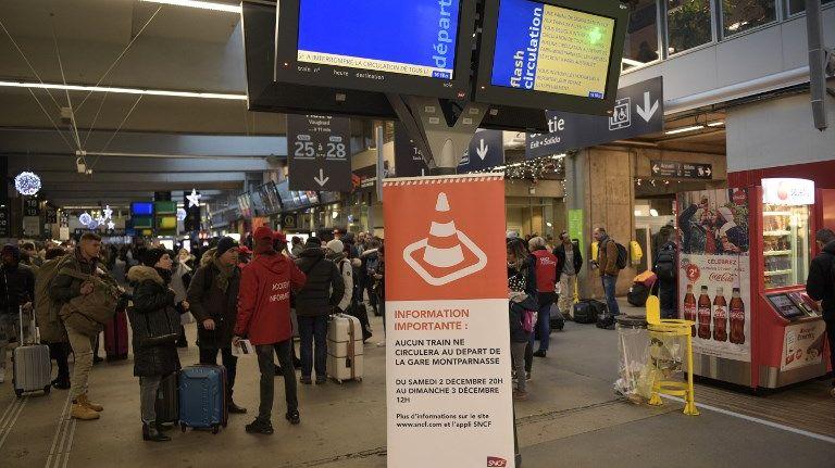 La Gare Montparnasse, le 3 décembre dernier (illustration)