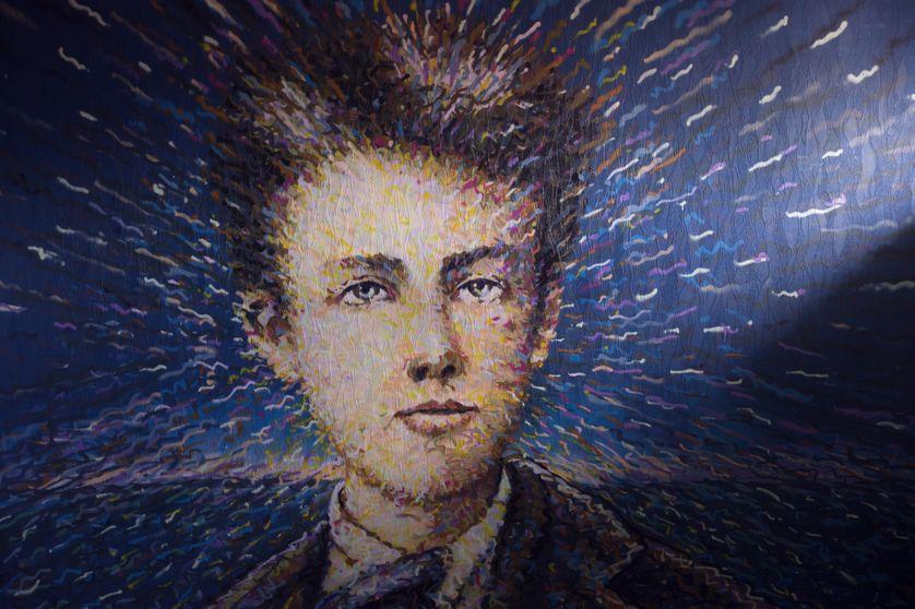 Représentation de Rimbaud par l'artiste australien Jimmy C à Paris
