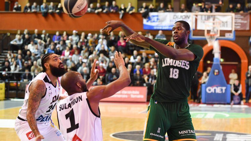 Malgré 20 points de Mam Jaiteh, le Limoges CSP s'est incliné vendredi soir à Dijon