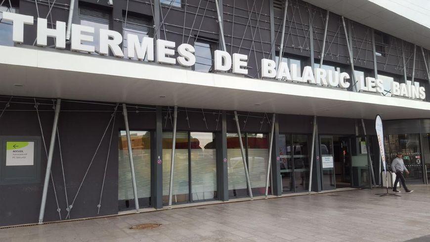 Les thermes de Balaruc les Bains