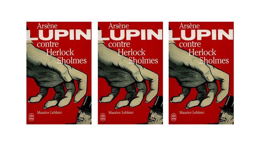 Arsène Lupin contre Herlock Sholmes (couverture du livre)