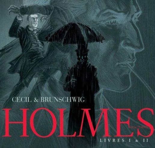Holmes (1854-1891) Pack en 2 volumes : Tome 1, L'adieu à Baker Street ; Tome 2, Les liens du sang de Cecil et Luc Brunschwig