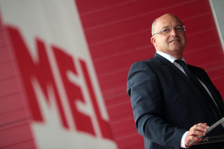 Damien Castelain, le président de la Métropole Européenne de Lille