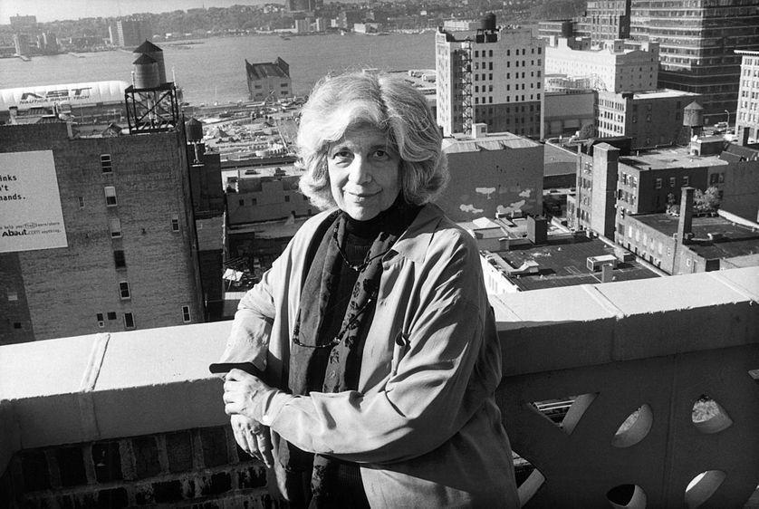 Portrait de Susan Sontag a New-York, 1999