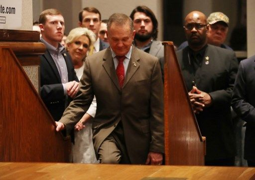 Le juge ultra-conservateur Roy Moore, accusé d'attouchements sur mineures, a fait perdre l'Alabama aux Républicains