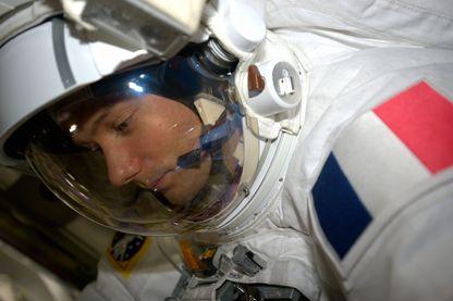 Thomas Pesquet à bord de l'ISS le25 mars 2017