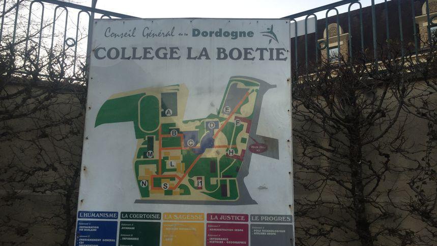 Le collège La Boétie de Sarlat compte près de 800 elèves