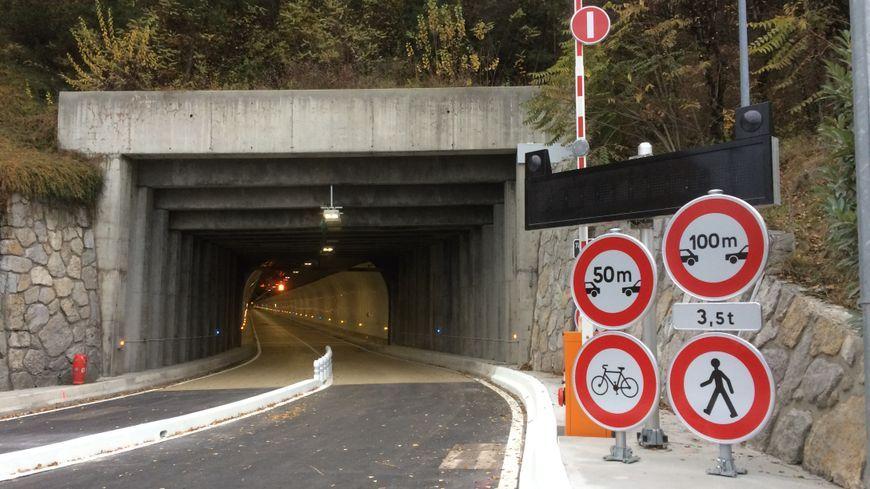 Le tunnel du Chat entre Yenne et Chambéry est de nouveau ouvert à la circulation depuis le mois de novembre