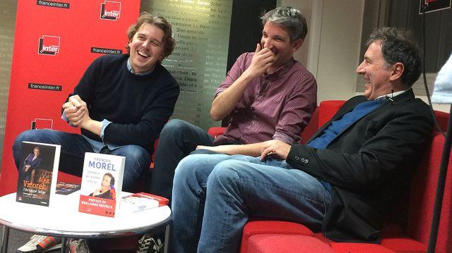 Alex Vizorek, Guillaume Meurice et François Morel