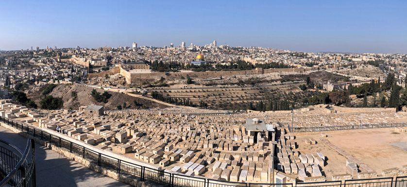 Jerusalem vue depuis le Mont des Oliviers
